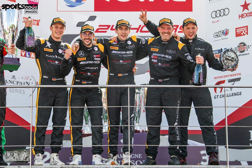 24h von Spa der Blancpain GT Serie 2017